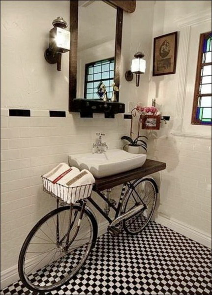 furniture bicycle