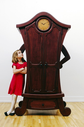 an unusual children's wardrobe