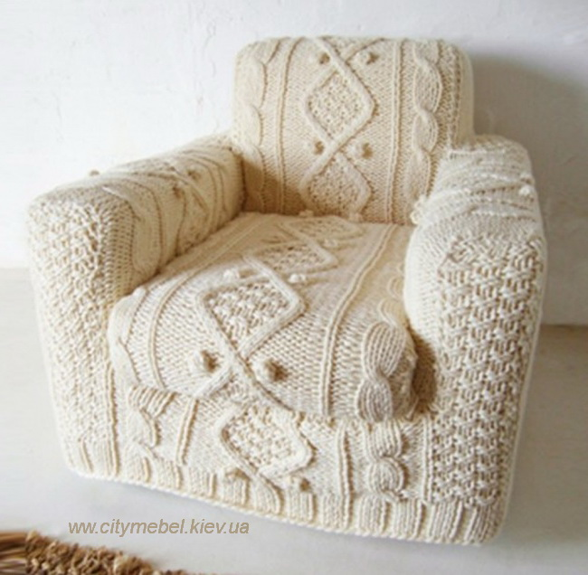 knitted seat