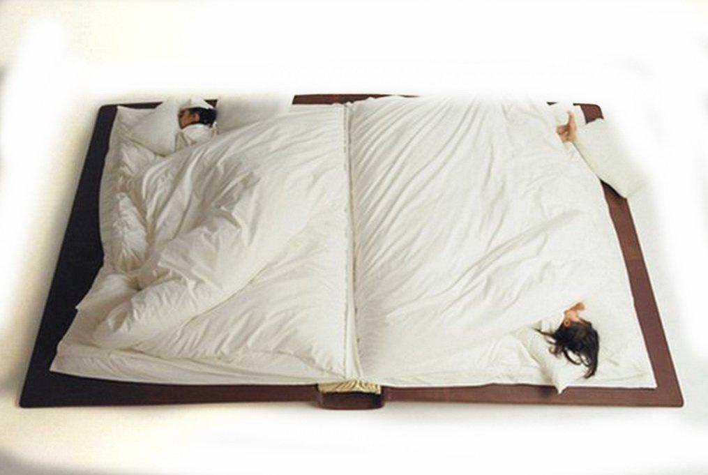 кровать книга