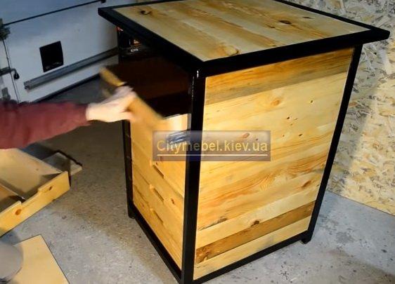 Изготовление мебели лофт  Борисполь