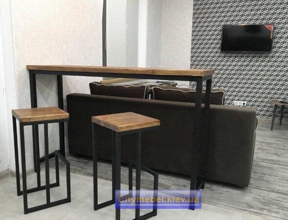 Мебель в кафе лофт на заказ
