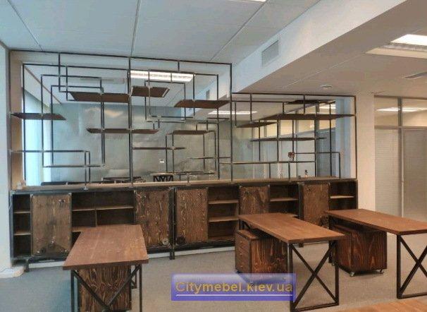 Дизайн кафе в стиле loft