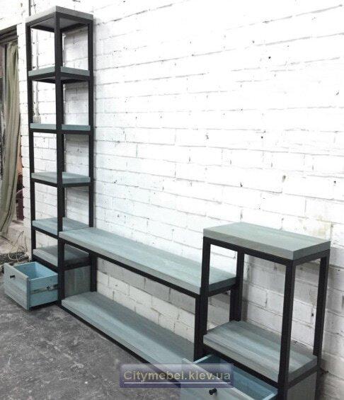 мебель в коридор лофт на заказ