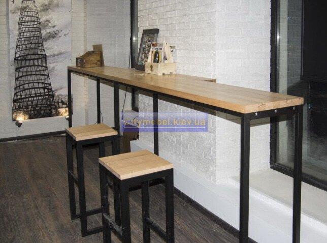 Мебель лофт в офис