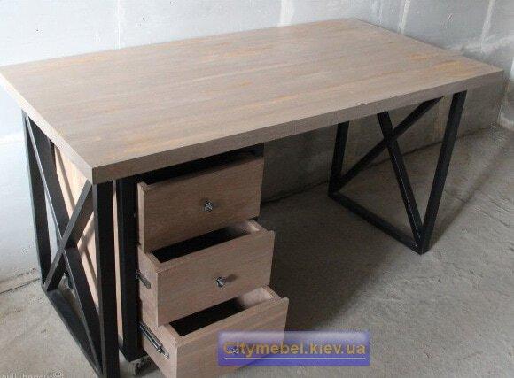 деревянный стол LOFT Киев