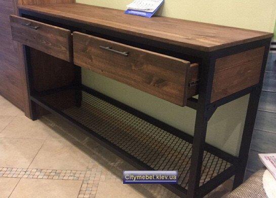 стол лофт для телевизора