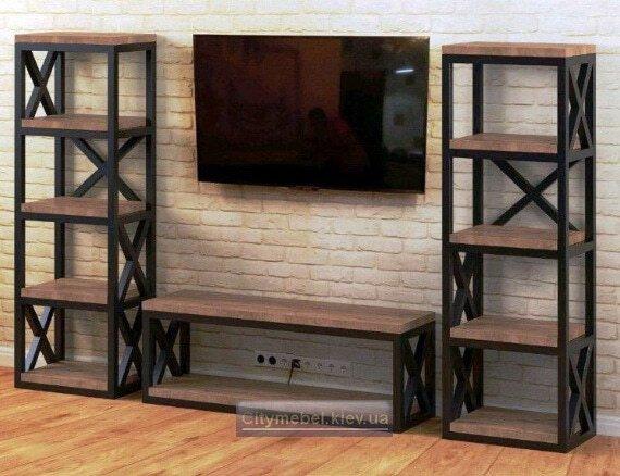 деревянная мебель лофт