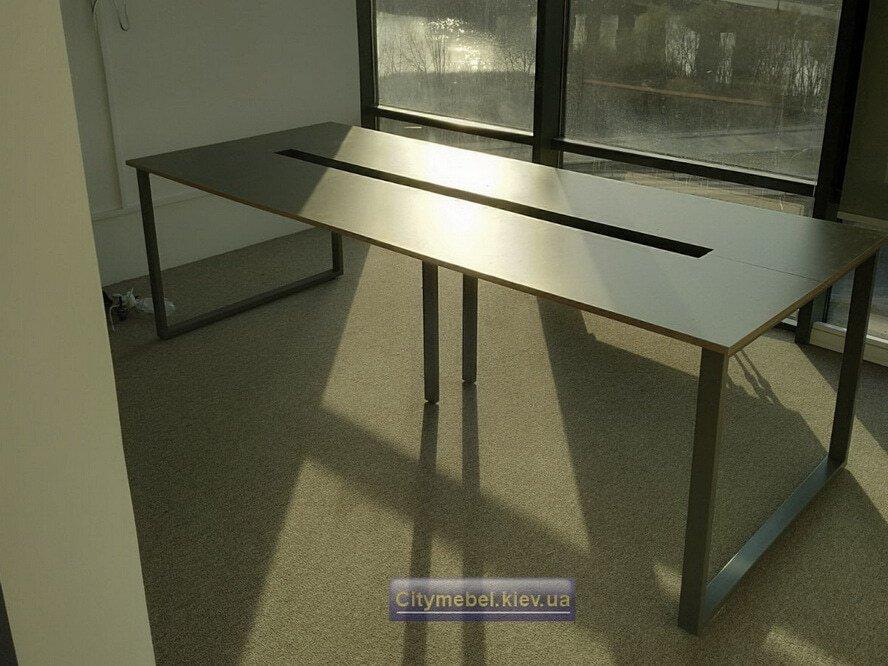 Установка офисных столов на заказ