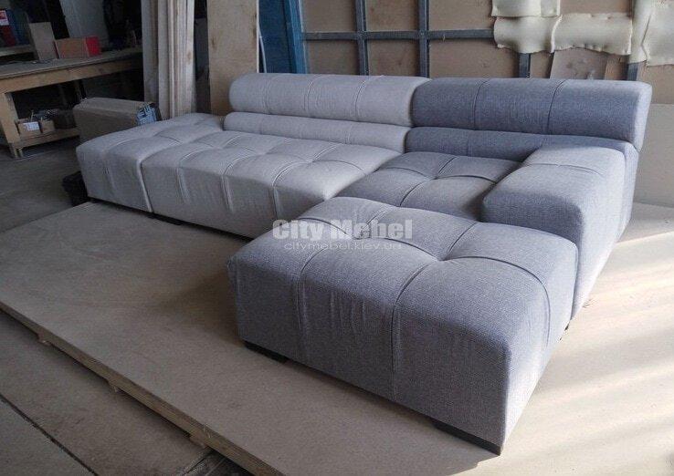 разноцетный модульный диван угловой