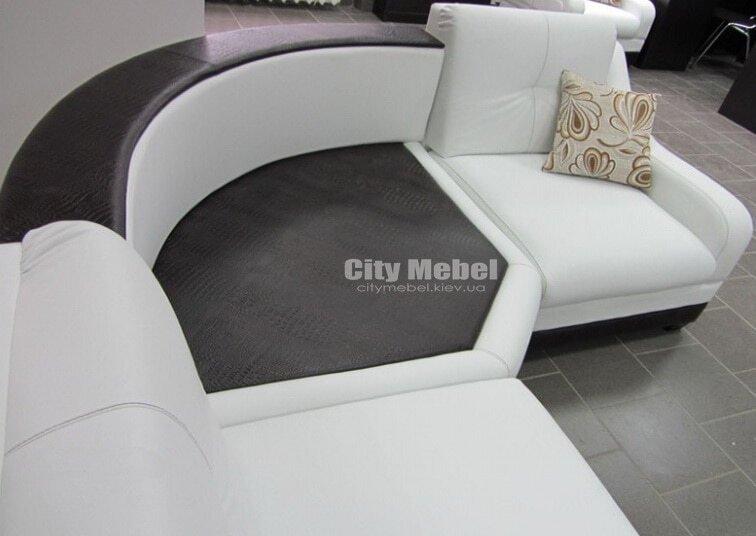 модульный угловой диван в кухню