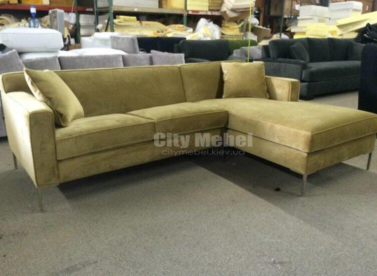 светло зеленый диван