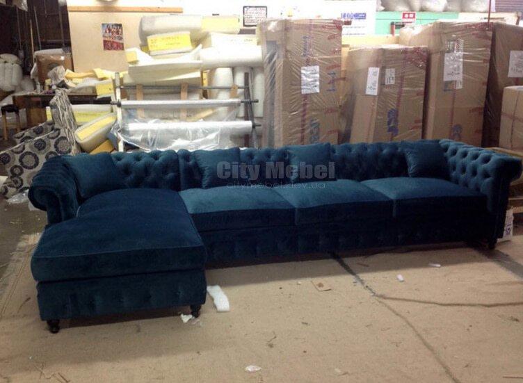 Угловой диван на всю комнату
