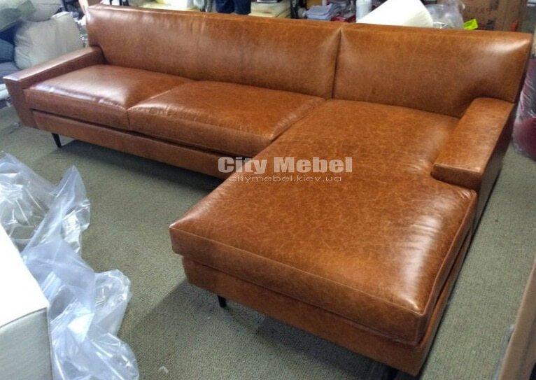 Изготовить коженный угловой диван
