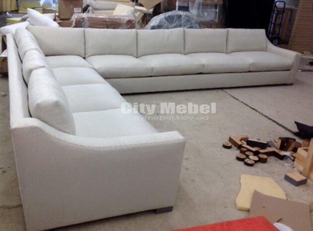 большой скандинавский диван фото