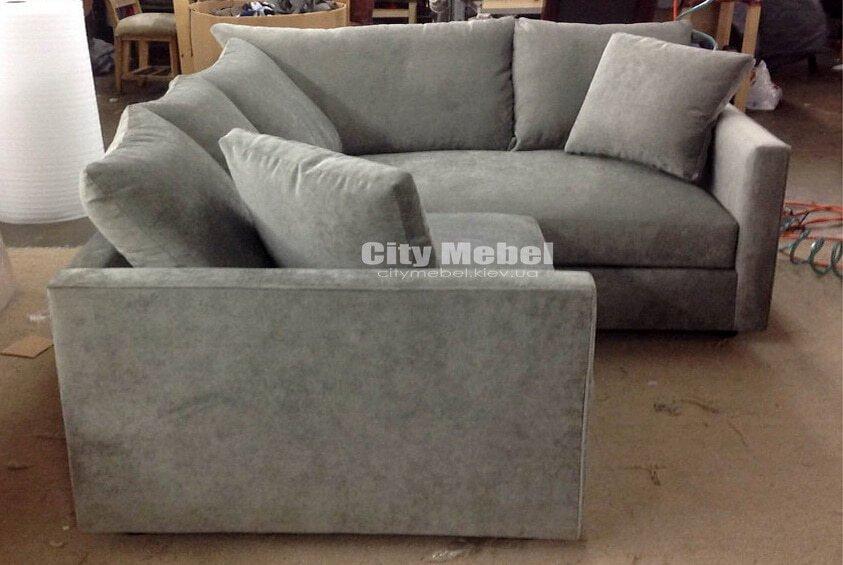 недорогой уговой диван на заказ