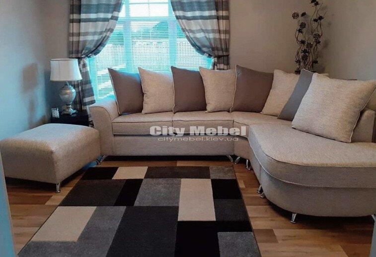 дизайн проект углового дивана под заказ Украина