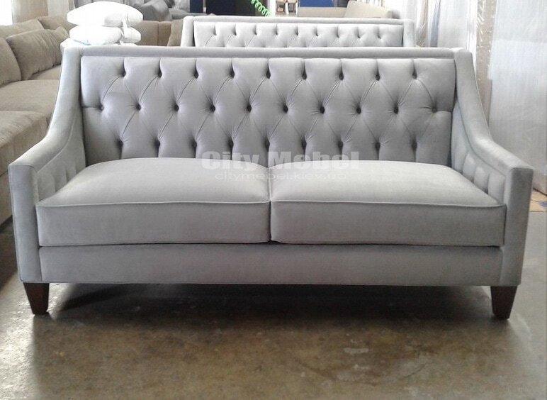 прямой диван на кухню на заказ