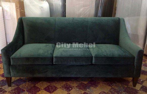 прямой диван в прихожую на заказ