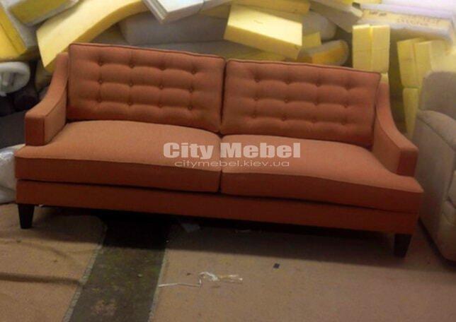 мягкая мебель прямой формы для гостинной
