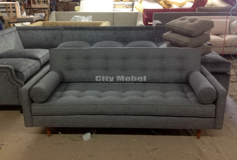 изготовление прямых диванов
