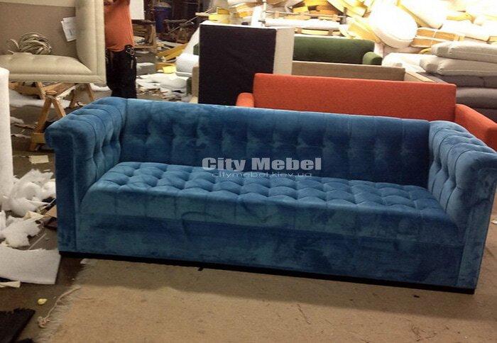 изготовление прямых диванов в Ирпене