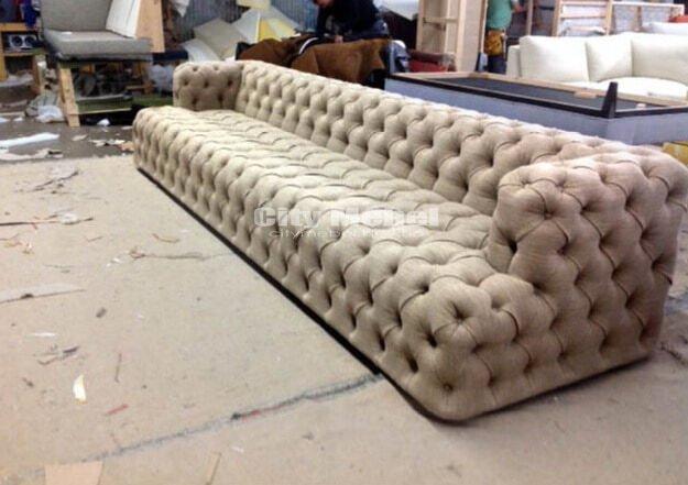 изготовление прямых диванов в Буче