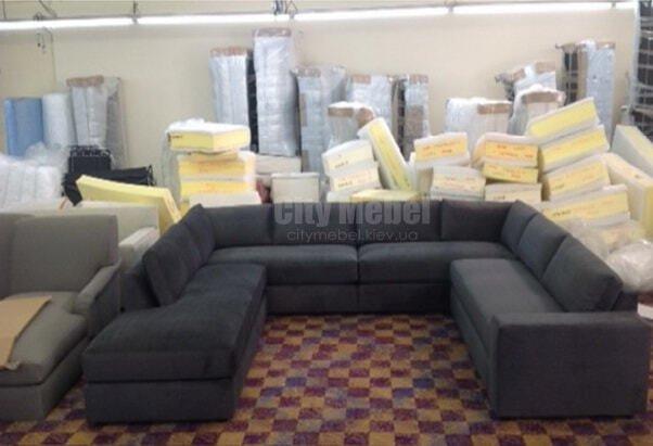 П образный диван под заказ в Украине