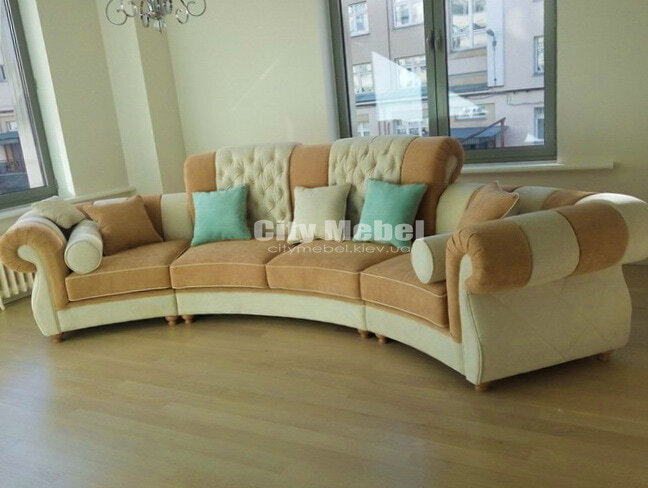 прямой классический прямой диван в отель
