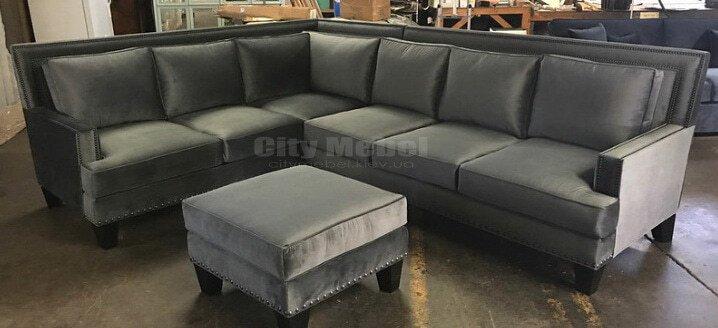 угловой диван  в офис под заказ