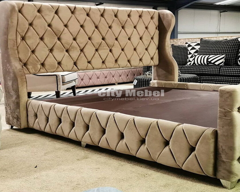 кровати коричневого цвета на заказ