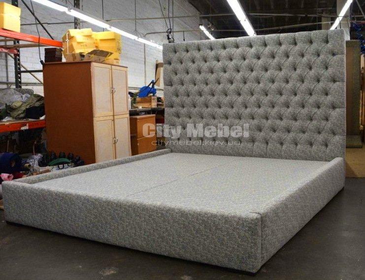 Дизайнерские кровати с мягким изголовьем на заказ