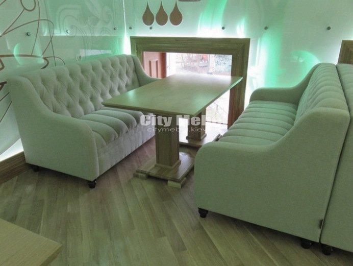 изготовление диванов для ресторанов