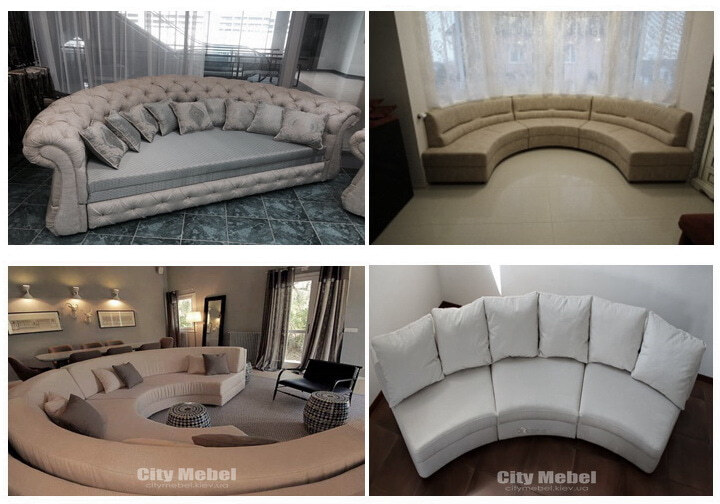 дизайн проект радиусного дивана