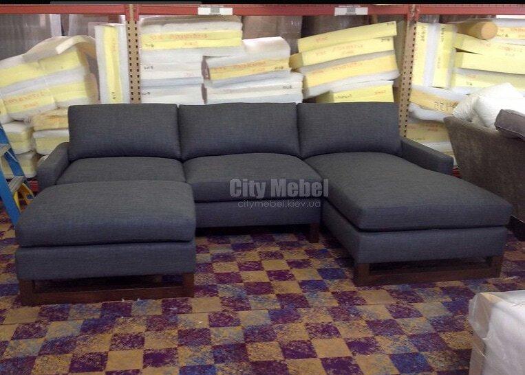 диван по периметру