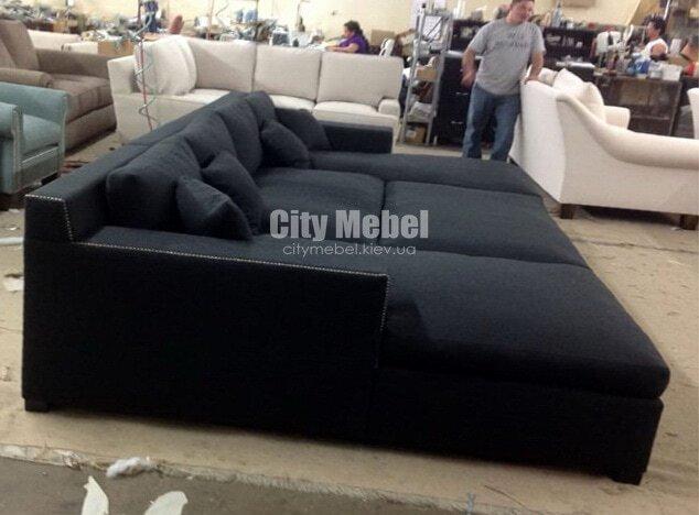 раскладной по образный диван