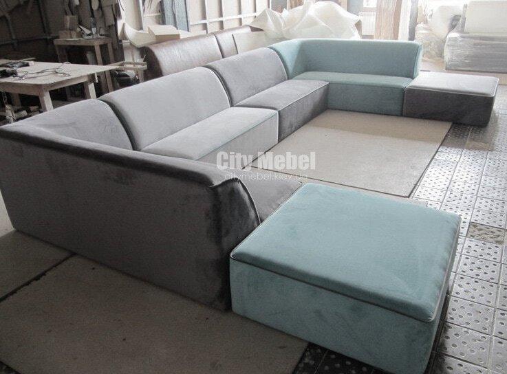 модульный раскладной по образный диван на заказ
