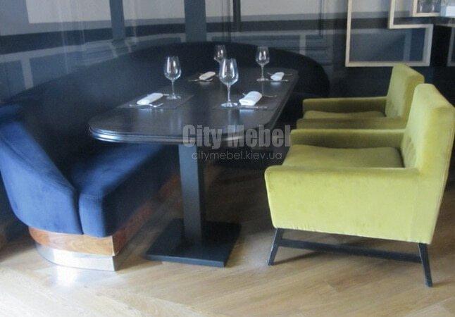 мягкая мебель для ресторанов под заказ